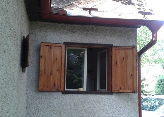 Přestavba chaty