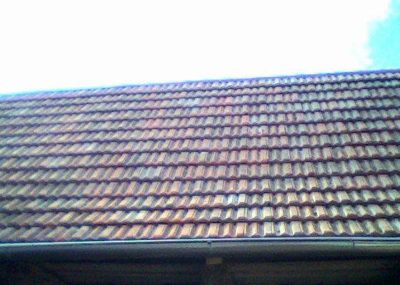 Rekontrukce střechy na selském stavení