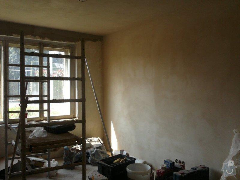 Rekonstrukce bytu: .