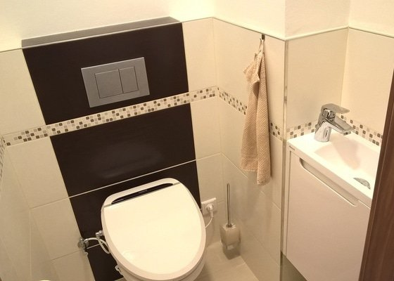 Rekonstrukce koupelny, WC, chodby a pokojů v bytě v paneláku
