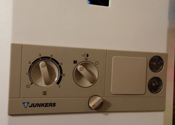 Revizní prohlídka/oprava kombinovaného kotle Junkers