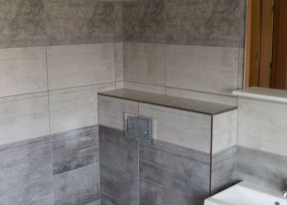 Rekonstrukce místnosti s WC