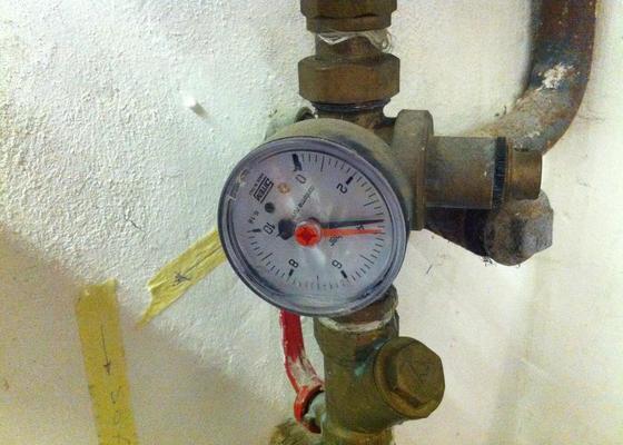 Oprava vodovodního měřáku v RD