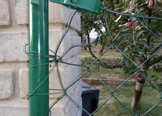 Výměna zahradního plotu za stávající