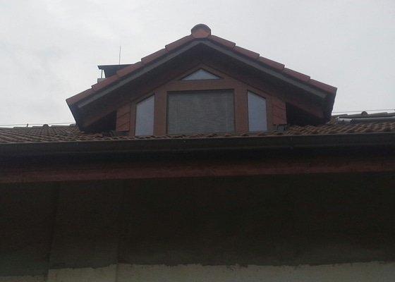 Podbití střechy - půdorys - cca 10x20