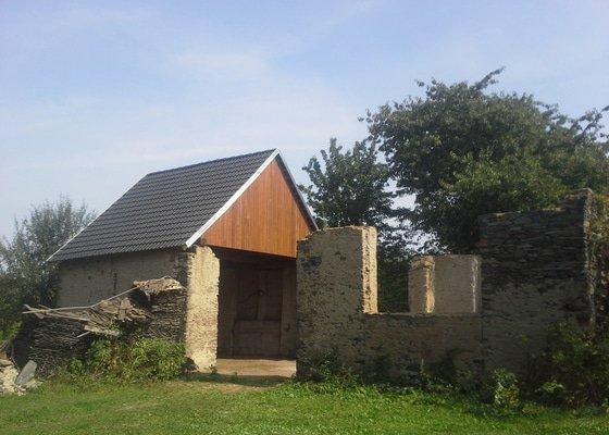 Oprava střechy stodoly