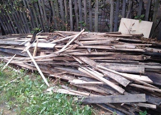 Uklid odpadu po rekonstrukci