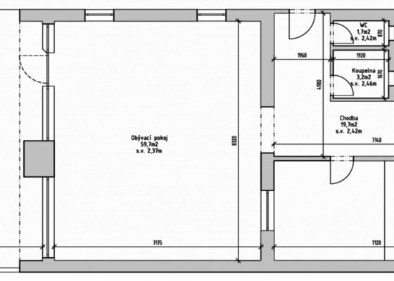 Rekonstrukce interiéru domu 200m2 (4+1)