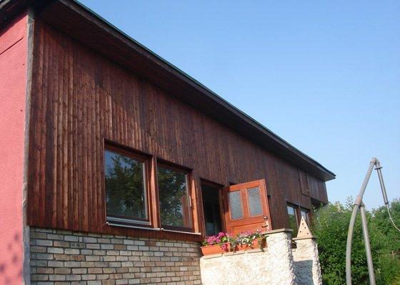 Nátěr/namoření dřevěné verandy