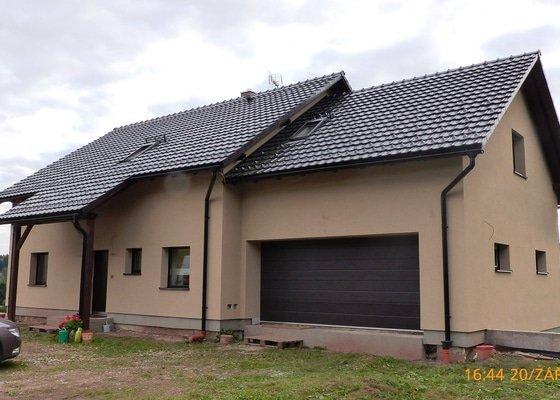 Zhotovení silikonové fasády RD