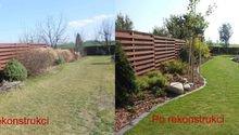 Rekonstrukce zahrady u rodinného domu