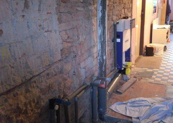 Zedn.práce(koupelna 4,3*2m) + obkladačské práce