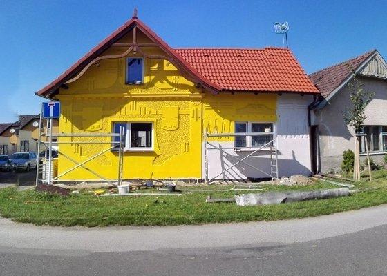 Úprava + nátěr fasády