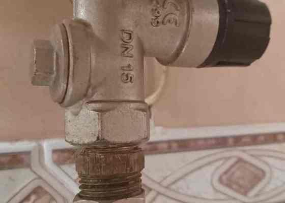 Výměna vodoměru a pojistného ventilu k bojleru