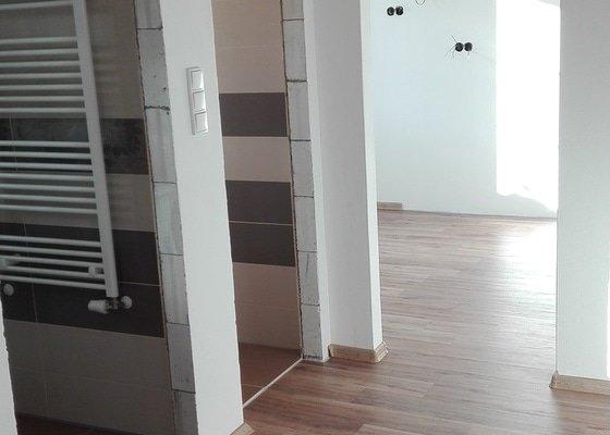 Rekonstrukce bytu v řadovém domě