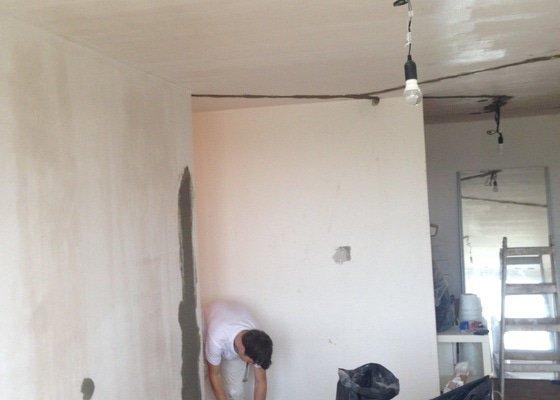 Štukování zdi, 2+kk