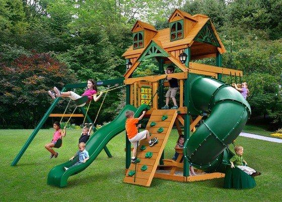 Nátěr dětského hřiště