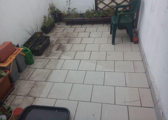 Oprava soklu na terase - obvod cca 12 m