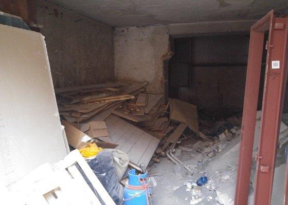 Vyklizení garáže