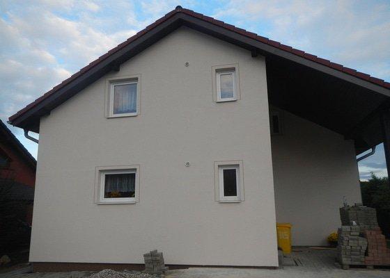 Dokonceni fasady domu