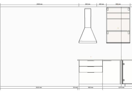 Zednicko-elektrikářské práce pro přípravu před montáží kuchyňské linky ikea