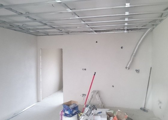 Kompletní rekonstrukce bytové jednotky 3+1