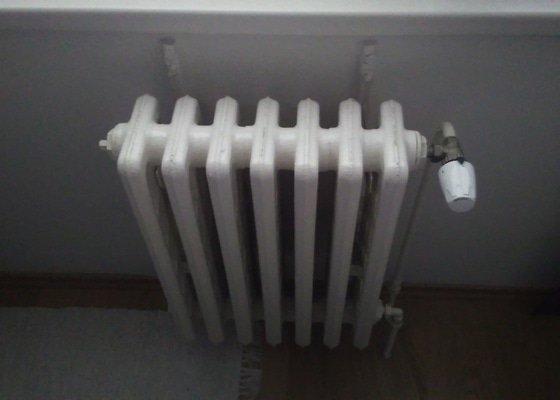 Vymena radiatoru v panelaku
