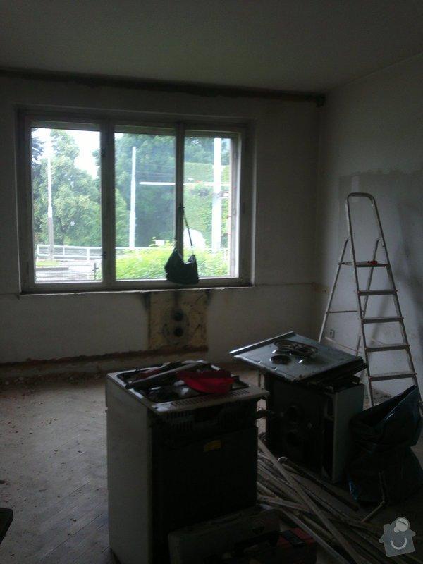 Rekonstrukce bytu: V OLŠINÁCH