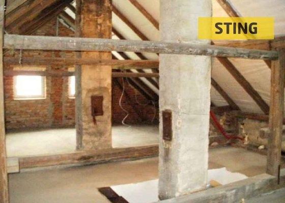 Instalace střešních oken do plechové střechy