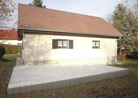 Stavba terasy o výměře 24m2
