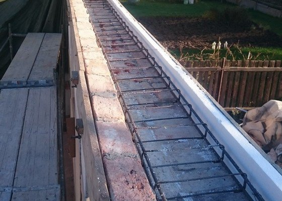 Demontáž střechy a zhotovení věnce
