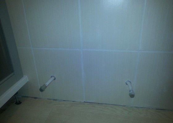 Montáž otopného žebříku do koupelny