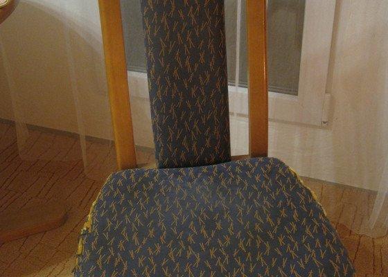 Čalounění na čtyři židle