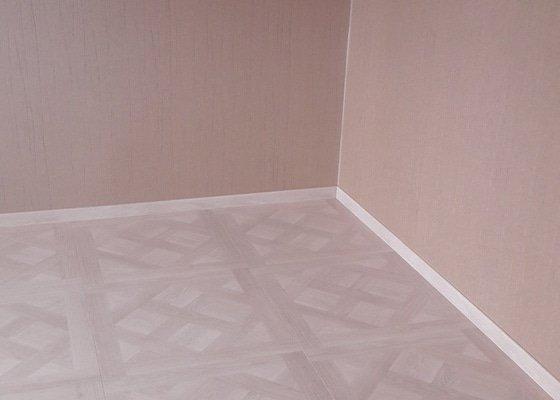 Renovace obývacího pokoje 20 m2.
