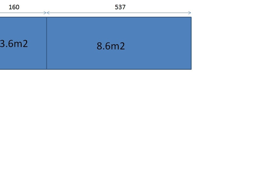 Sádrokartonový podhled (13m2)  v panelovém bytě