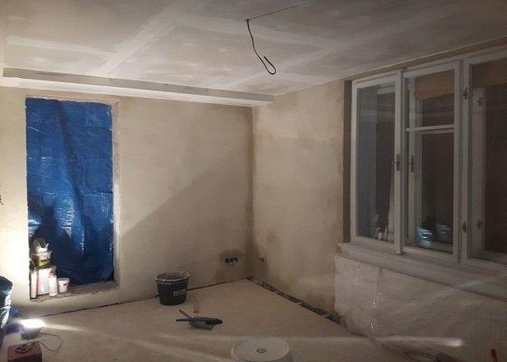 Štukování místností-Sádrokartonové podhledy