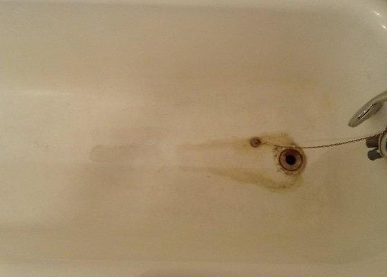 Výměna sifonu a renovace odpadu u vany