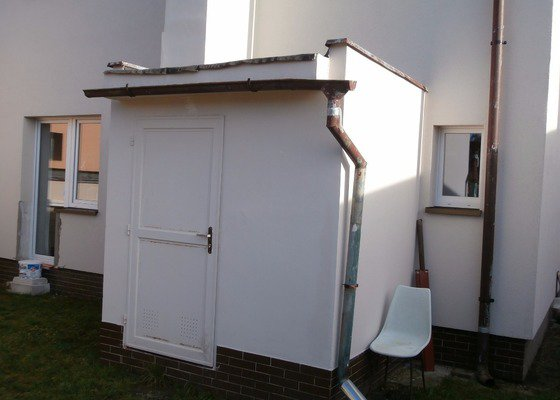 Oprava ploché střechy kotelny 5 m2