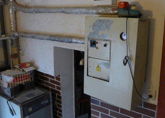 Instalatér - cca 1 den - rozdělení radiátoru, odpojení kotle