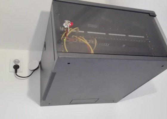 Strukturovaná kabeláž + dodávka racku