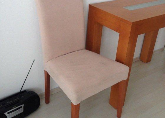 Čištění židlí (potah semiš), gauče a matrace
