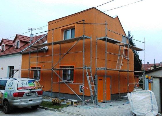 Zhotovení fasády
