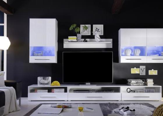 Montáž nábytku-obývací stěna