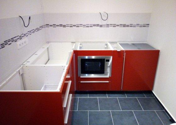 Montáž kuchyňské desky