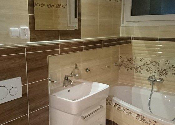 Kompletní rekonstrukce koupelny včetně 3D návrhu