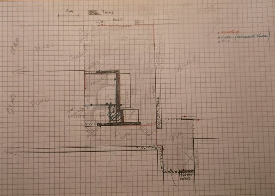Rekonstrukce umakartového jádra v panelovém bytě