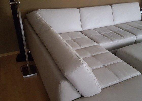 Přečalounění sedačky včetně materiálu