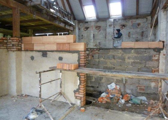 Rekonstrukce stodoly na ubytovací a stravovací zařízení