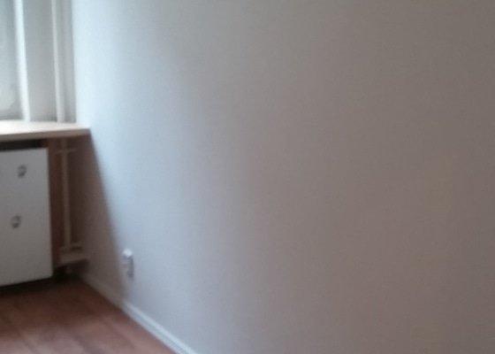 Úprava příček v bytě a elektroinstalace v upravované části