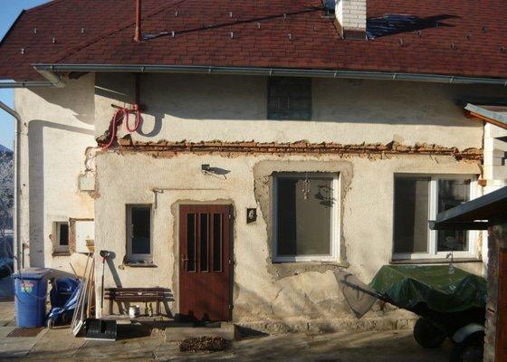 Fasádu na rodinném domku